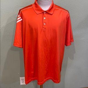 Adidas ClimaCool polo.  Men's 2XL.